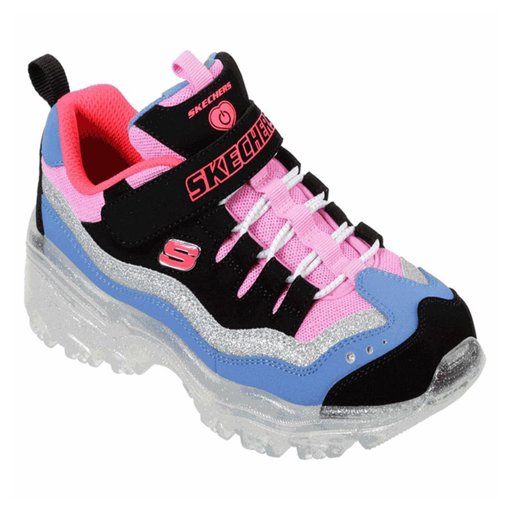 Tranquilidad codicioso Inscribirse  Tenis Deportivo Con Luz Led Niña Skechers 20401Lbppr N° 22 - lamarinamx