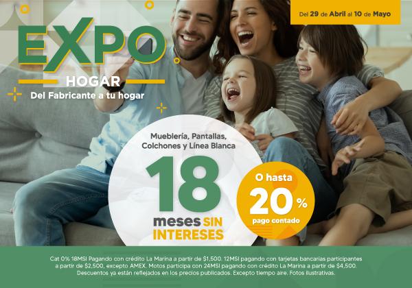 Expo Hogar 18 msi