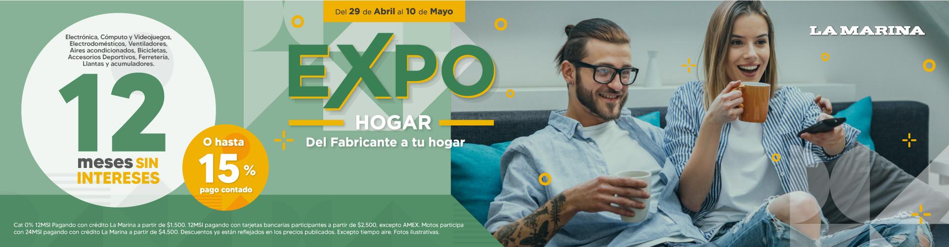 Expo Hogar 12 msi
